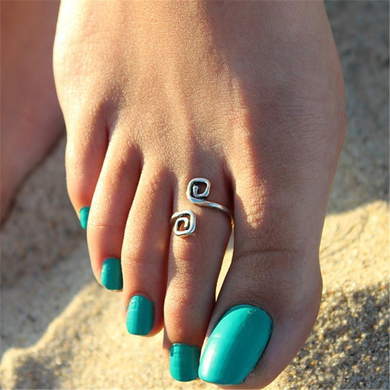 Handmade Silver Toe Ring