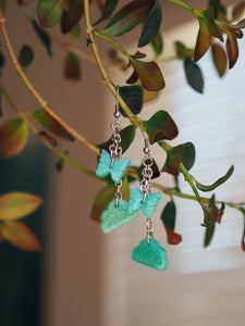 Greenie Dangle Earrings
