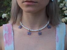 Load image into Gallery viewer, Transcendent Butterfly Pearl Choker