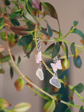 Load image into Gallery viewer, Custom Dangly Cloud Butterfly Earrings