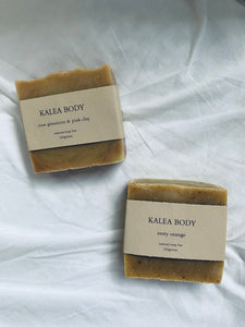 Kalea Body Natural Soap Bar.