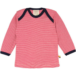 Loud & Proud - Striped Tomato Long Sleeved T-Shirt