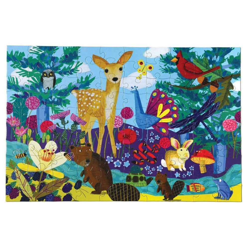 eeBoo Life on Earth - 100 Piece