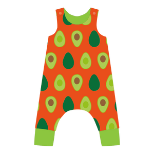 Load image into Gallery viewer, Pikolo - Lined Dungarees - Avocado