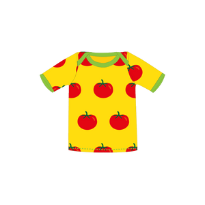 Pikolo - Short Sleeved T-Shirt - Tomato