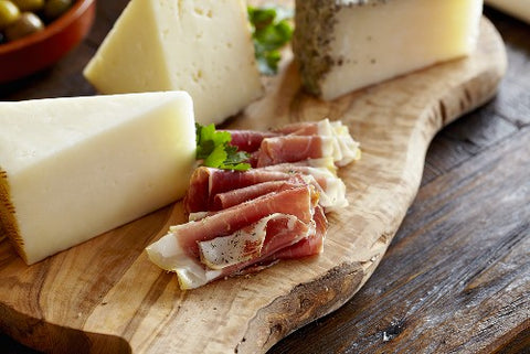 Italian meats and cheeses