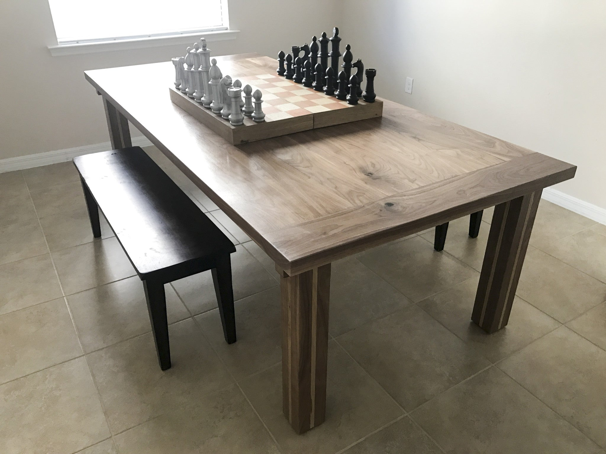 The Modern Walnut And Oak Dining Table Modified To Your