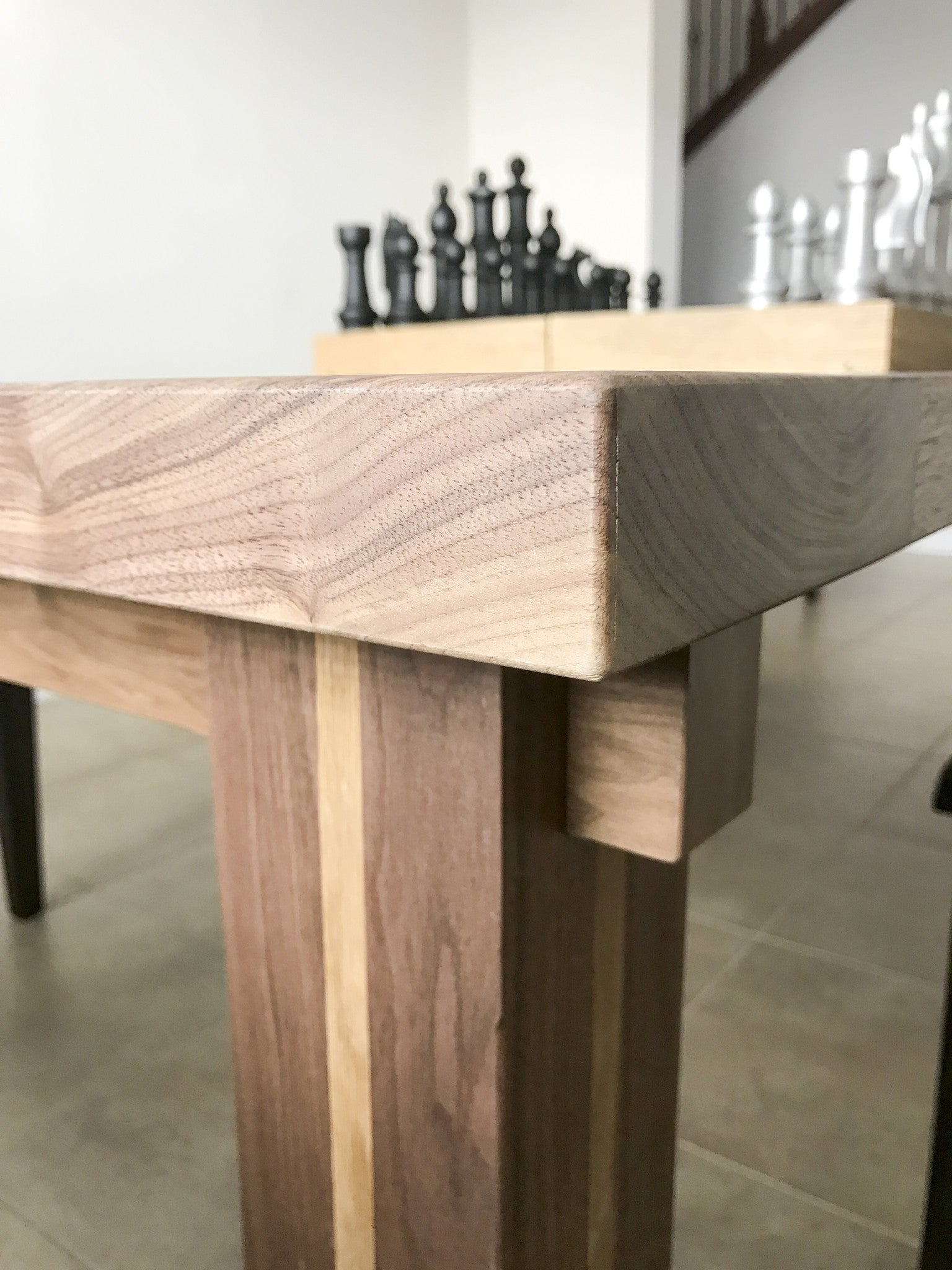 check out a1a73 f11c1 The Modern Walnut and Oak Dining Table (modified to your specifications)