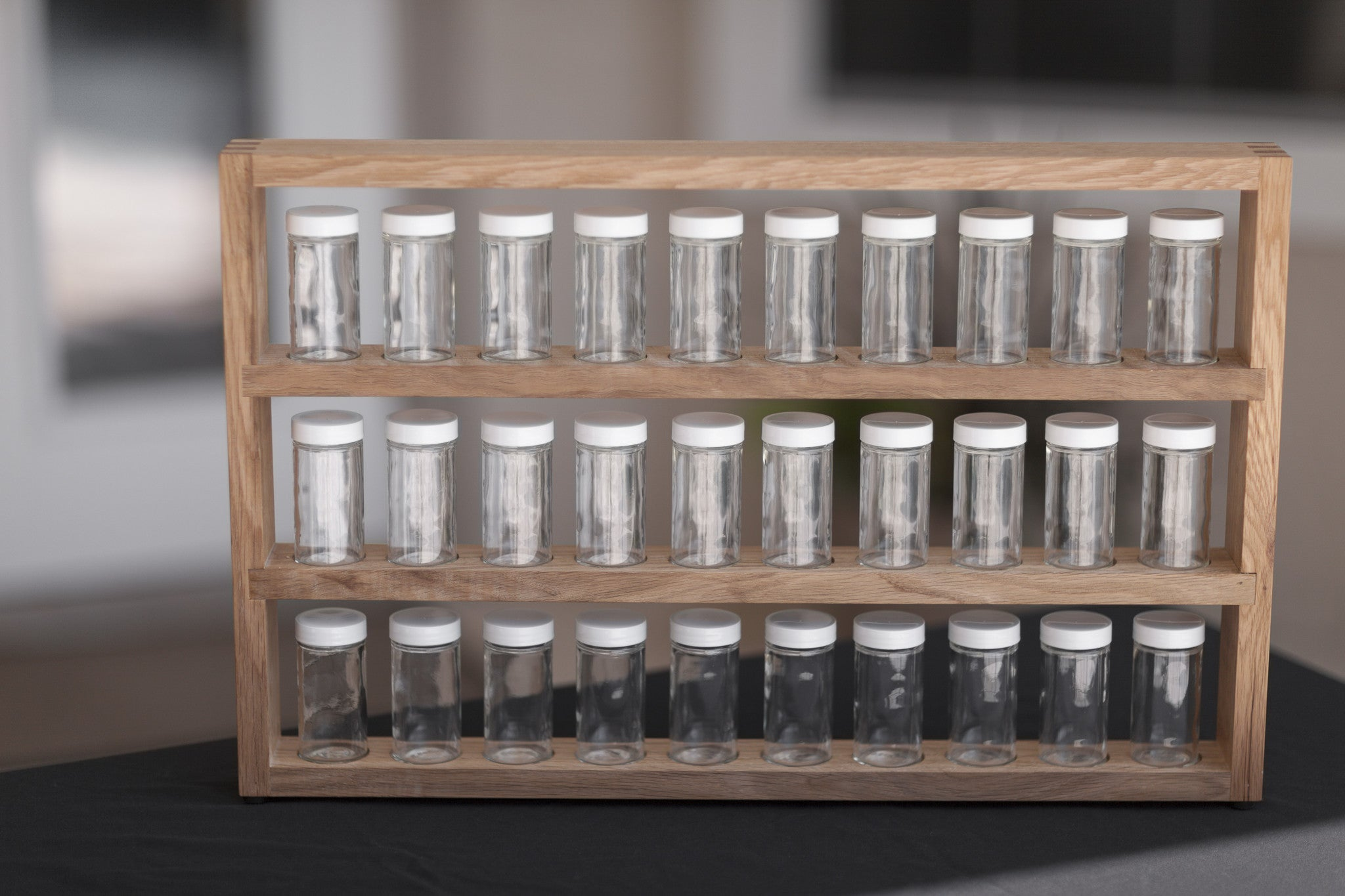 the functional spice rack organizes and simplifies wentworth designs. Black Bedroom Furniture Sets. Home Design Ideas