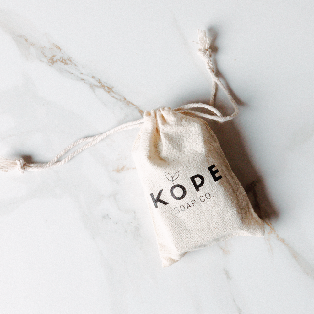 Kope Soap, a soap made out of soap and used coffee grounds
