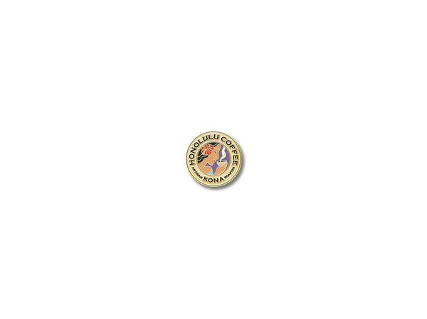 Honolulu Coffee Pin