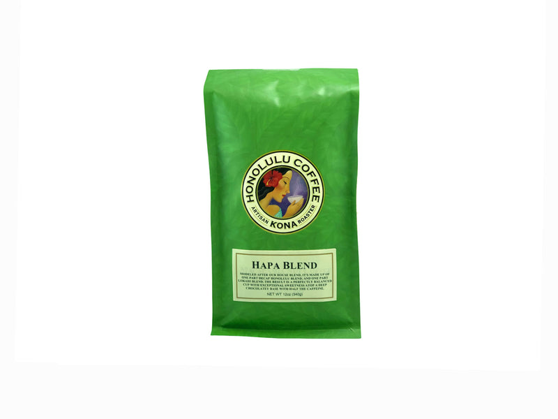 12oz coffee bag of our Hapa Blend