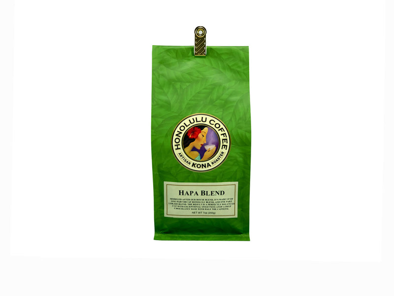 7oz coffee bag of our Hapa Blend
