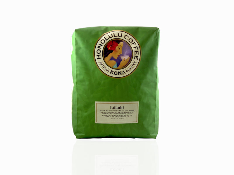 5lb bag of our Lokahi Coffee blend