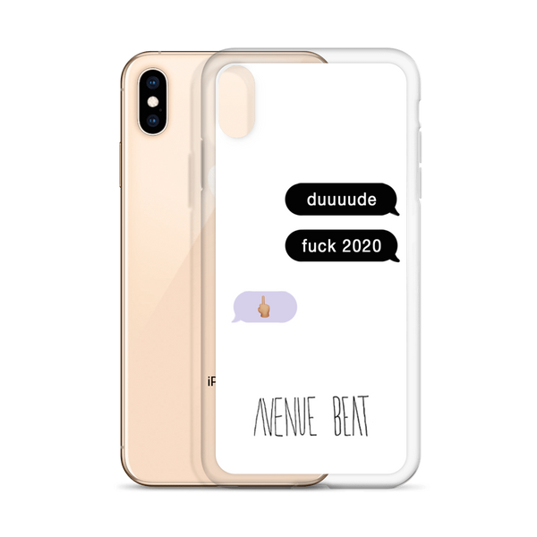 Fuck 2020 Text Thread iPhone Case
