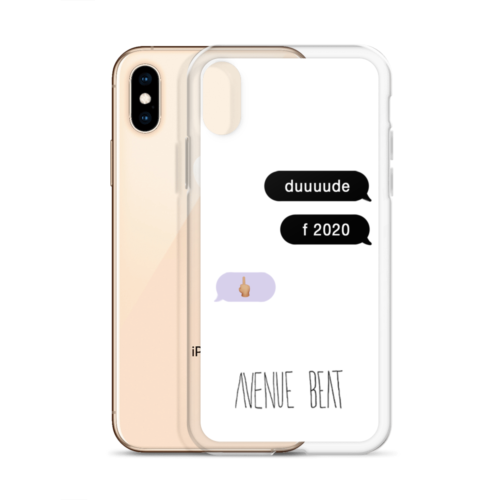 F2020 Text Thread iPhone Case