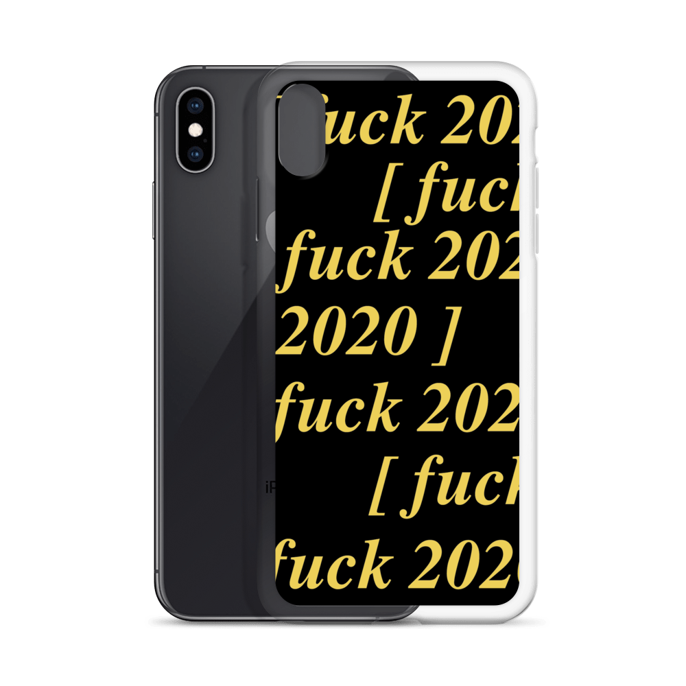 [f*ck 2020] iPhone Case