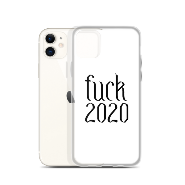 F*ck 2020 iPhone Case