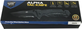 Alpha Tac Knife - Streetwise - Black