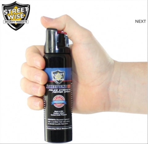 Pepper Spray 230,000 SHU HOT Large 4 oz Self Defense 23 Police