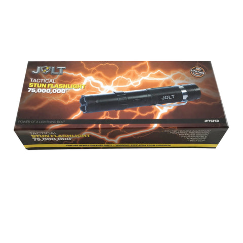 JOLT Tactical Stun Flashlight 75M