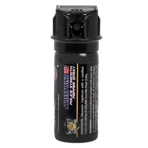 Pepper Spray:Police Strength Streetwise 23 Pepper Spray 2 oz Flip Top