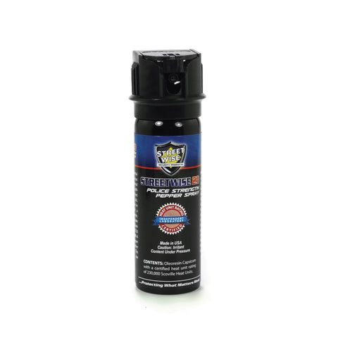 Pepper Spray:Police Force 23 Pepper Spray 3 oz Flip Top