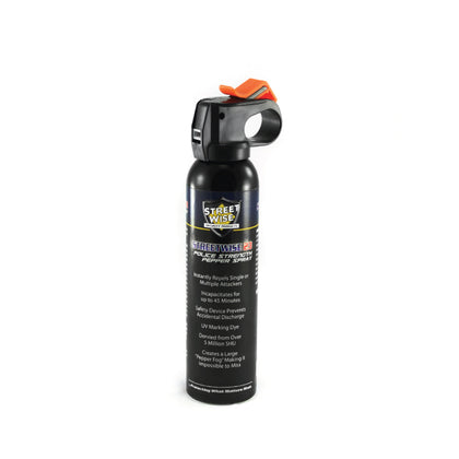 Pepper Spray:Police Strength Streetwise 23 Pepper Spray 9 oz. Fire Master