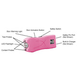 Stun Guns:Lady Life Guard 16,500,000* Stun Gun - PINK