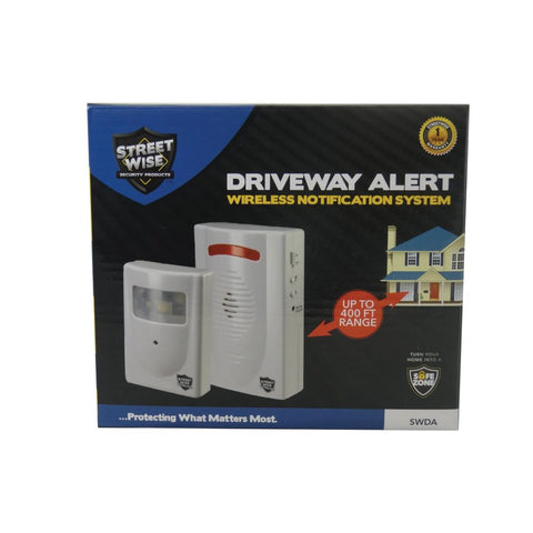 Driveway Alert Wireless Notification System - Streetwise