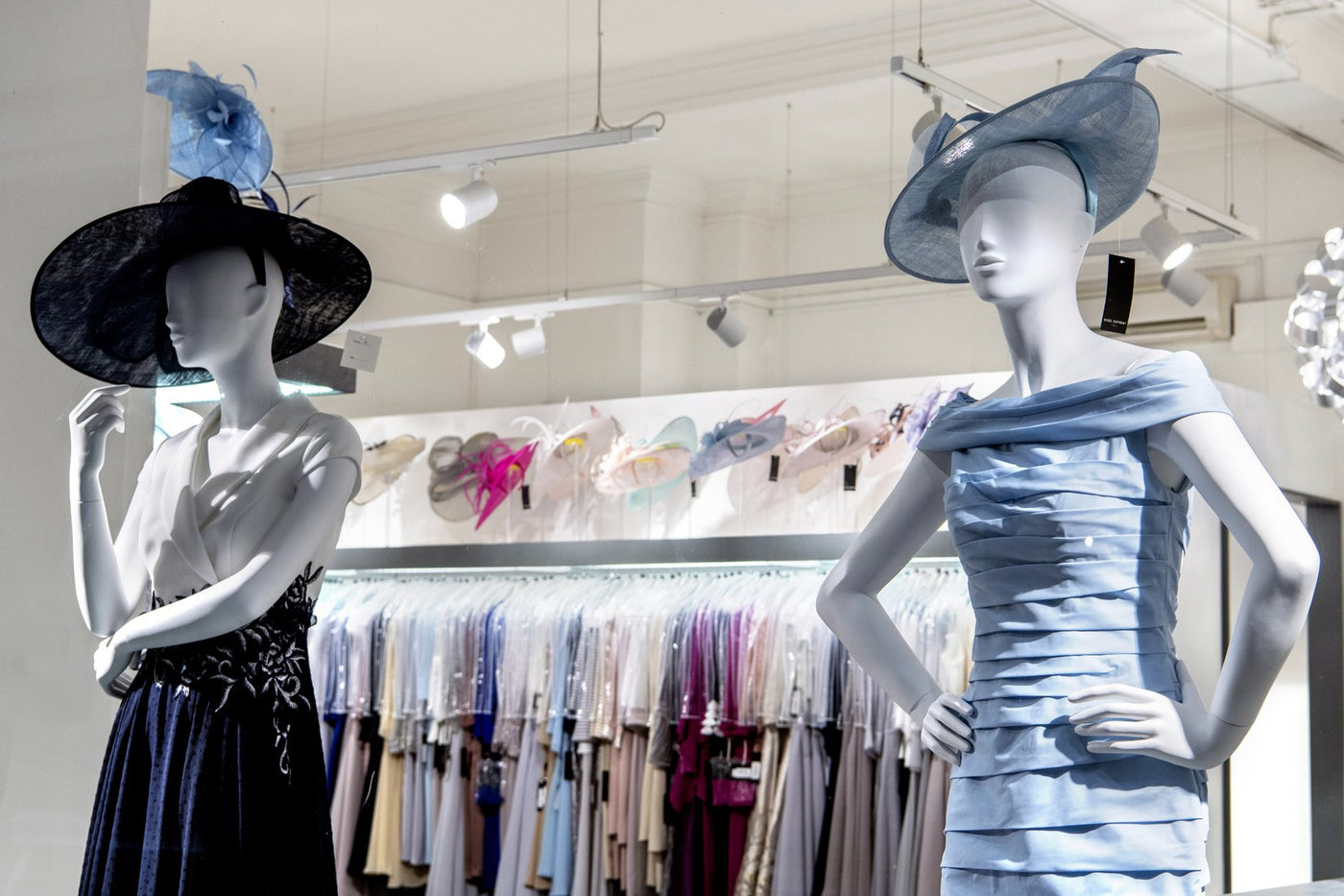 Now available - Nigel Rayment's latest collection of hats & fascinators