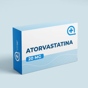 Atorvastatina 20 mg blister x 10 tabletas