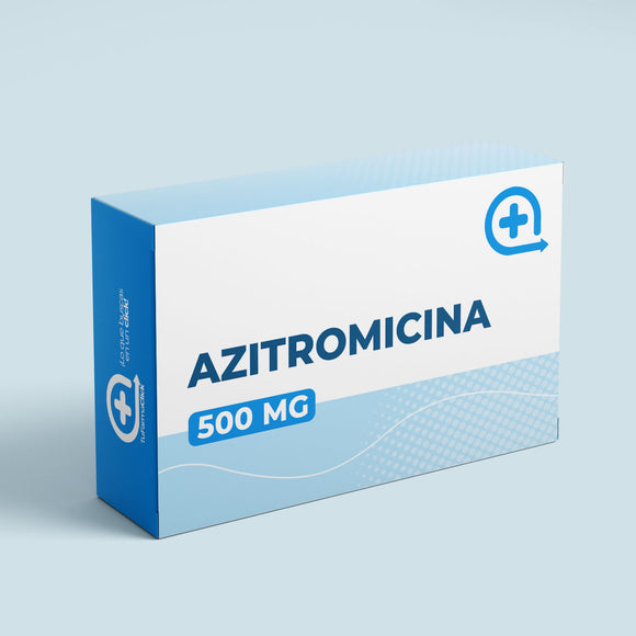 Azitromicina 500 mg blister x 3 Tabletas