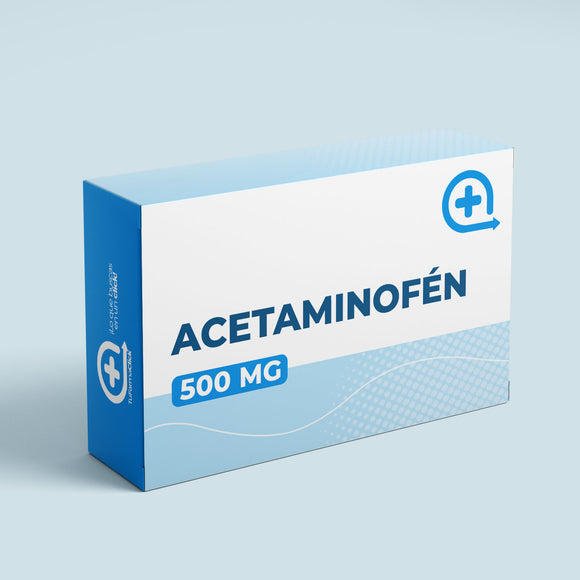 ACETAMINOFEN 500 MG X 40 TABLETAS