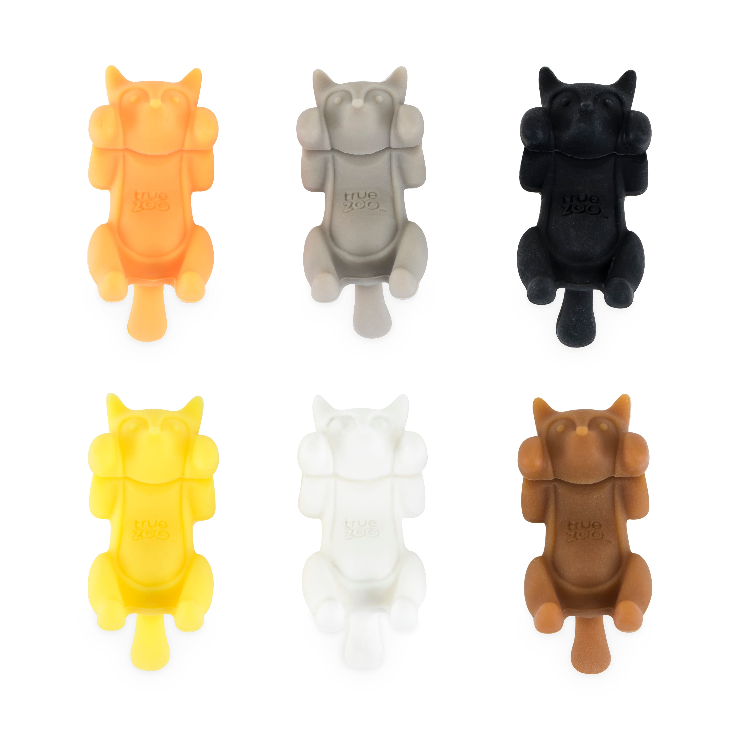 Paws Off™ Glass Markers (Set of 6) by TrueZoo.