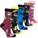 Load image into Gallery viewer, 5 pack cat socks
