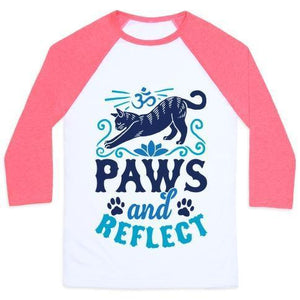 Paws and reflect shirt pink
