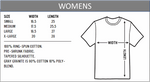 Load image into Gallery viewer, Women's t-shirt sizes