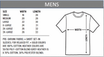 Load image into Gallery viewer, Mens t-shirt sizes