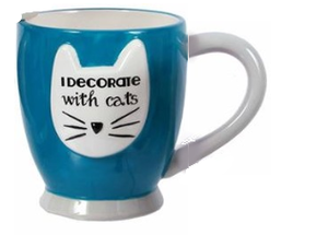 Mug I decorate with cats