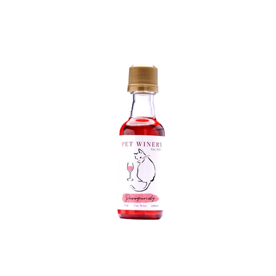 Purrgundy cat wine 1.5 oz