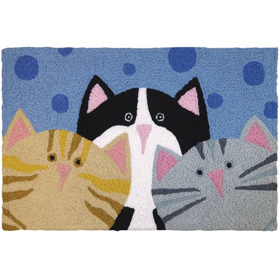 Cat Pack Accent Rug.