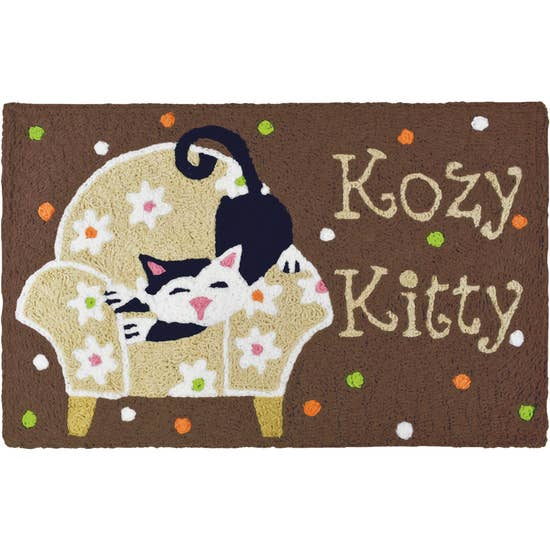 Kozy Kitty Accent Rug.