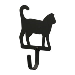 Wall hook - cat standing.