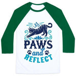Load image into Gallery viewer, Paws and reflect shirt green