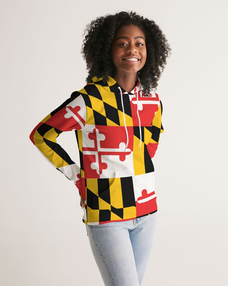 VOILA MARYLAND COAT OF ARM Women's Hoodie