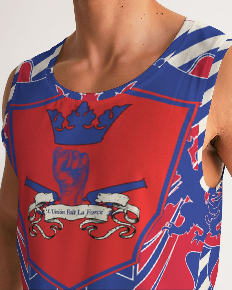 LIBERATION coat of arm Men's Sports Tank