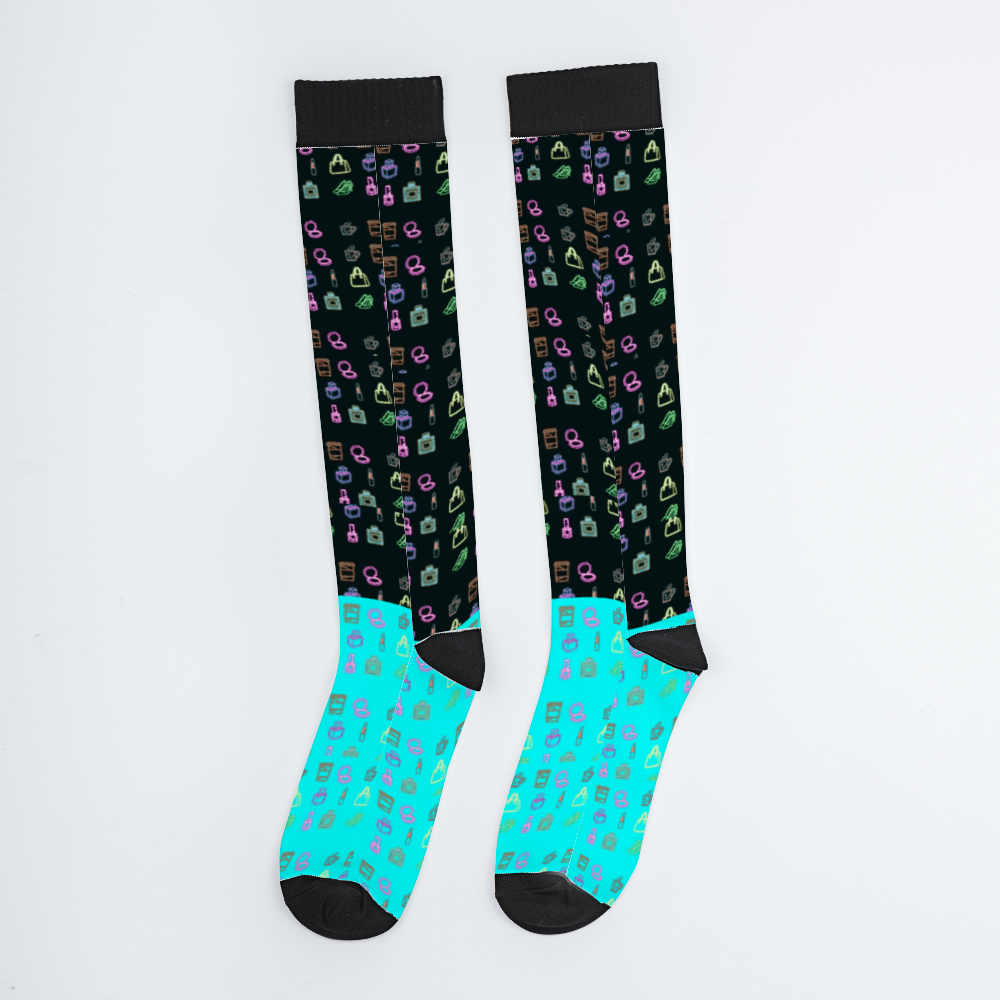 ZOE BUNNY  Long Sock FEMALE Breathable Calf Socks