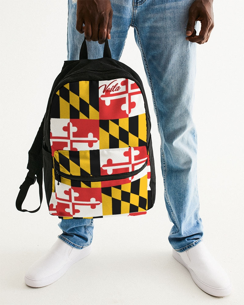 VOILA MARYLAND COAT Small Canvas Backpack