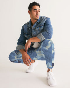LIBERATION powder blue fatigue Men's Track Pants